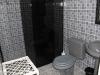 Villa Linda bagno camera con letto matrimoniale
