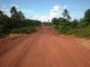 Strada (Estrada de barro) per arrivare a Pititinga