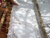 Pizzo a file, cotone e lino artigianato di Reduto